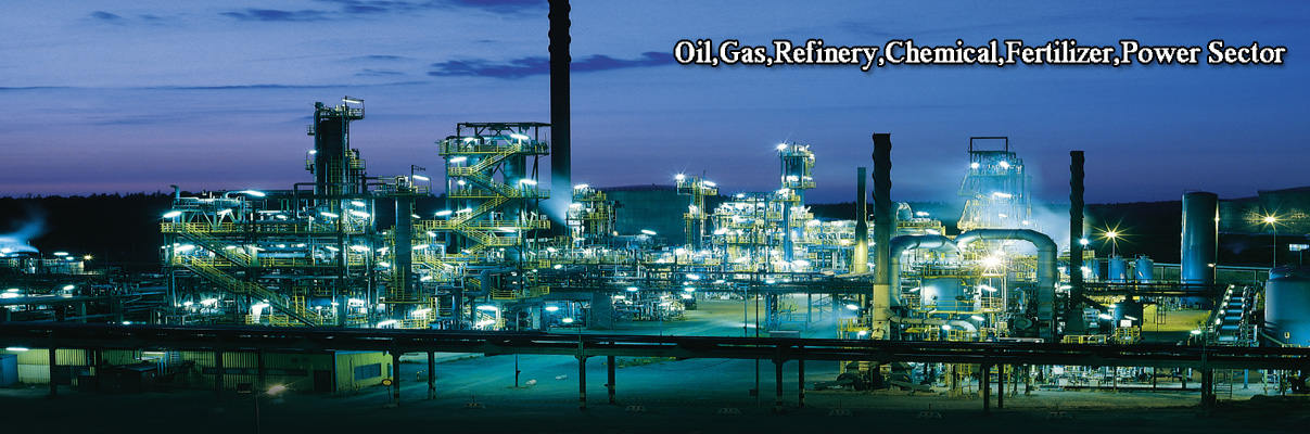 Oil/Gas/Refinery/Chemical/Fertilizer/Power Sector